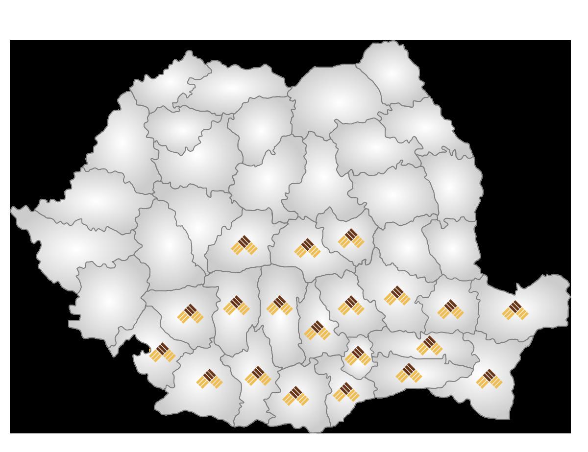 harta judete
